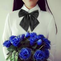 ascot tuxedos - Hot Men Women Adjustable Fun Tuxedo Prom Bowknot Bow Tie Collar Party Wedding Hot Selling
