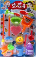 Wholesale 3C piece authentic toys children s mini ware pieces play house toys Color random distribution
