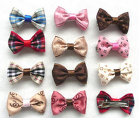 Wholesale New Pet Dog Cat Beauty Supplies Bows Hairpin Pet Hair Clips Grooming Accessories hair clip cat hair clip bows