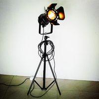 Wholesale 1 Set Industrial Bar Creative Studio Retro Black Floor Lights PLT05