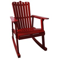 antique rocking chair styles - Outdoor Furniture Garden Rocking Chair Wood Colors American Country Style Antique Vintage Adult Recliner Rocking Chair Seat