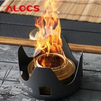 alcohol mixture - Hot New Portable Alocs Mini Alcohol Stove Spirit Burner Outdoor Camping Cookware CS B02 Aluminum Alloy