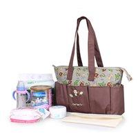 adult diaper bags - Hot Cheap Baby Product Microfiber Baby Bag Caters Baby Diaper Bag Animal Printing Adult Diaper Bag Tote Bag