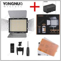 app cameras - YONGNUO YN300 III LED K Camera Video Flash Light YN300 III For DSLR camera Olympus APP YONGGUO NP mAh