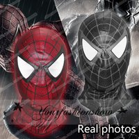 Wholesale Hot sale New Spider Man Venom The Amazing Spider Man mask Balaclava Hood Cosplay Motorcycle Halloween Full Face Mask M226