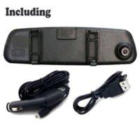 Nouvelle arrivée 2.4 HD 1080P Dash Cam DVR véhicule Camera Recorder Video Rearview Mirror voiture pas cher dvr moto