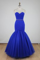 ac picture - ac Sexy New Arrival Charming Evening Dresses Mermaid Sweetheart Lace up Floor Length Organza Party Porm
