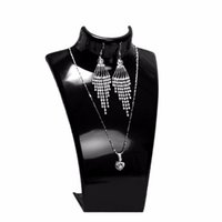 accessories busts - New Jewelry Pendant Retail Tall Chain Display Holder Show Decorate Necklace Stand Bust Accessories High Quality Color