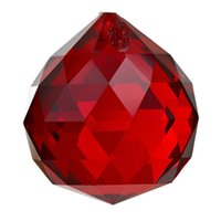 Wholesale DHDL mm Red Crystal Ball Prisms