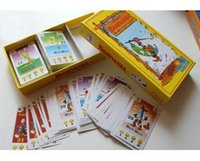 Wholesale fun Bohnanza board game newest version for person playing card game great present for kids