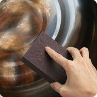 Wholesale Sponge Carborundum Brush Kitchen Scouring Pads New Household Washing Cleaning Tools Housekeeping Organization DHL Free