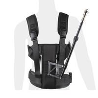 Wholesale New DSLR Aluminum Alloy Rig movie support Rod Vest fit Shoulder Mount Support Video Camcorder steadicam for D2 D3 Steady Cam