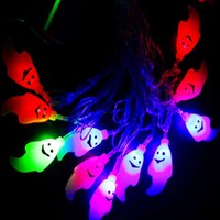 animal ghosts - Halloween party Decoration m White Ghost String Light Bulbs AC110V V Input Meter a Set string light