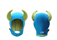 Wholesale Good quality mm neoprene ox horn diving caps adults winter swimming caps colors size S XL