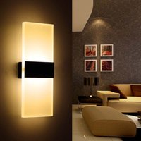 Wholesale 6W Led Wall Lamp Bedroom Bedside Living Room Hallway Stairwell Balcony Aisle Lamp Modern Brief Balcony Lamp Corridor Wall Sconce