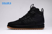 Wholesale Mens Lunar air Duckboot Sneaker Boot Cheap High Quality Black Sneakers Walking Outdoor Sports Shoes Breathable Jogging Shoes EUR7