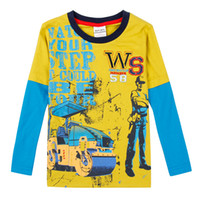 baby fund - Children s long sleeve T shirt han edition Spring clothing children s wear t shirts boy baby girls cotton base coat of new fund