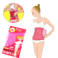 aid weight loss - Sauna Slimming Belt Tummy Belly Waist Body Shaper Wrap Fat Burner Weight Loss Super elastic Material