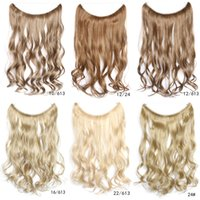 auburn hair color shades - New hot style factory direct sales line hair shade hair slice of a chip curly hair wigs