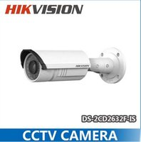 Wholesale Hikvision Network IP camera DS CD2635F IS MP mm vari focal lens IR with Audio alarm IP66 DS CD2635F I