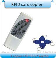 Wholesale Handheld frequency KHZ Khz EM4100 RFID copier writer duplicator EM4200 writable keychains
