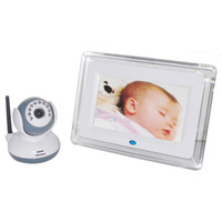 Wholesale 7 inch Wireless Intercom IR Night Vision Baby Monitor
