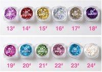 Wholesale New Supernova Sale d Nail Art Decorations Colors Tiny Glitter Powder Nails Decoration BK Nail Glitter