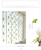 Wholesale 2016 New Arrival Shades Tree Printed Roman Blinds Short Curtain Curtains For Coffee Tulle Yarn Sheer Curtains Cortinas For Skylight