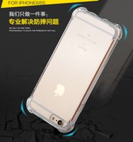 Wholesale Phone Cases for iPhone6S plus Silica gel Prevent breaking