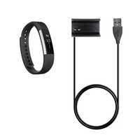 Wholesale 30CM Fitbit Alta Replacement USB Charger Cable Power Adapter Clamp Clip Charging Dock With Reset Function For Fitbit Alta Smart Watch