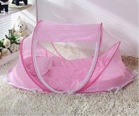 baby cot nets - Baby Infant Nursery Bed Crib Canopy Mosquito Net Netting Play Tent House Foldable Baby Cot Bed Mosquito Bug Net