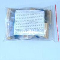 10 * 150Values, 1 / 4W 1% Kit de película metálica del resistor 1500 Valores de envío gratuito Fuji Film calor de la resistencia