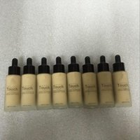 Wholesale 2016 NEW HOT UniQ Touch Mineral Liquid Foundation Professional Makeup Foundation Waterproof Face Concealer Liquid Colors FREE FAST DHL