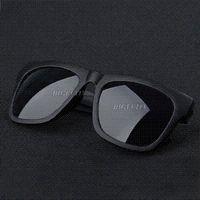 PC Sports Oval Free Shipping Retro Vintage Mens Womens 80's Unisex Black Lens Sunglasses Cheap sunglasses blue lens