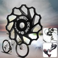 Wholesale 11T Alloy Bicycle Rear Derailleur Jockey Wheel Road MTB Bike Guide Roller Idler Pulley for SHIMANO SRAM Speed