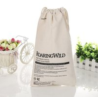 artwork logos - 100 cotton OZ promotion drawstring bags small bag with customized size and logo artwork arrange free