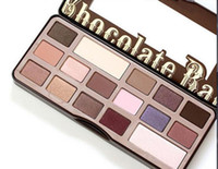 Wholesale 2016 Makeup Eye Shadow Too Faced Chocolate Bar Semi sweet Colors Professional Eyeshadow Palette