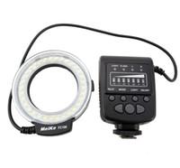 Precio de Meike flash de la cámara-Meike MK-FC100 LED Macro Anillo de luz de flash con 7 Anillo adaptador para cámara digital
