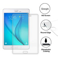Wholesale Qiaogle Anti explosion Tempered Glass Screen Protector Ultra Hard For Samsung TAB A T350 inch Premium Screen Protector