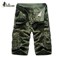 Wholesale Men cargo Shorts Men Casual Sports men Camo Cargo Shorts Military Camouflage Camping Hiking Shorts