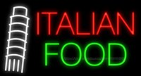 pizza sign - Italian Food Pisa Neon Sign Handcrafted Custom Real Glass Tube Store Restaurant Pizza Dishes Advertisement Display Sign quot X13 quot