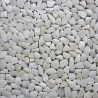 Wholesale Natural Oyster White Mother of Pearl Shell Pebble Tile quot x12 quot mosaic tile
