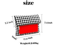 Wholesale IPad Holder Clutch BUY ONE GET ON FREE Popular Day Clutches for Ipad Protection Fold Over Style Gingham CYF
