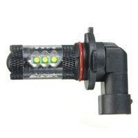 Wholesale Best Promotion W H10 For CREE XB D LED Fog Driving Lights Xenon White Bulb Black Aluminum