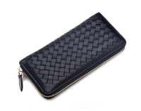 Wholesale Womens Wallets And Purses Famous Brand Designer Coin Credit Card Holder Leather LuxurySmall Money Clip Wallet Women Woven Leather Wellets