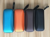 Wholesale Portable Fiber Colorful Cover Sunglasses Case For Women Glasses Box With Zipper Sunglass Shell Protector Colors Eyeglass Cases L
