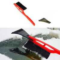 auto helper - New Car Ice Scraper Snow Brush Shovel Spade Removal Emergency Auto Clean Tool Good Helper