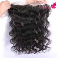 baby hair extensions - Lace Frontal Closure Remy Human Hair Extensions Cheap Brazilian Body Wave Hair x2 Ear To Ear Lace Frontal With Baby Hair