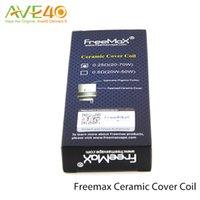 japanese ceramics - Original FreeMax FGCC Ceramic Coil Heads pack Japanese Organic Cotton for Freemax Starre Pure ml Ceramic Tank