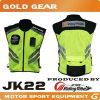 Wholesale 2016 Riding Tribe JK22 Reflective Safety Clothing Motorcycle Reflecting Racing protective Vest Visbility Moto Security Motorbike